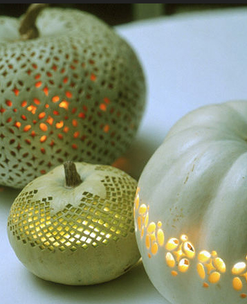 Martha does it again  - these pumpkins are so magical. I may attempt this this Halloween.