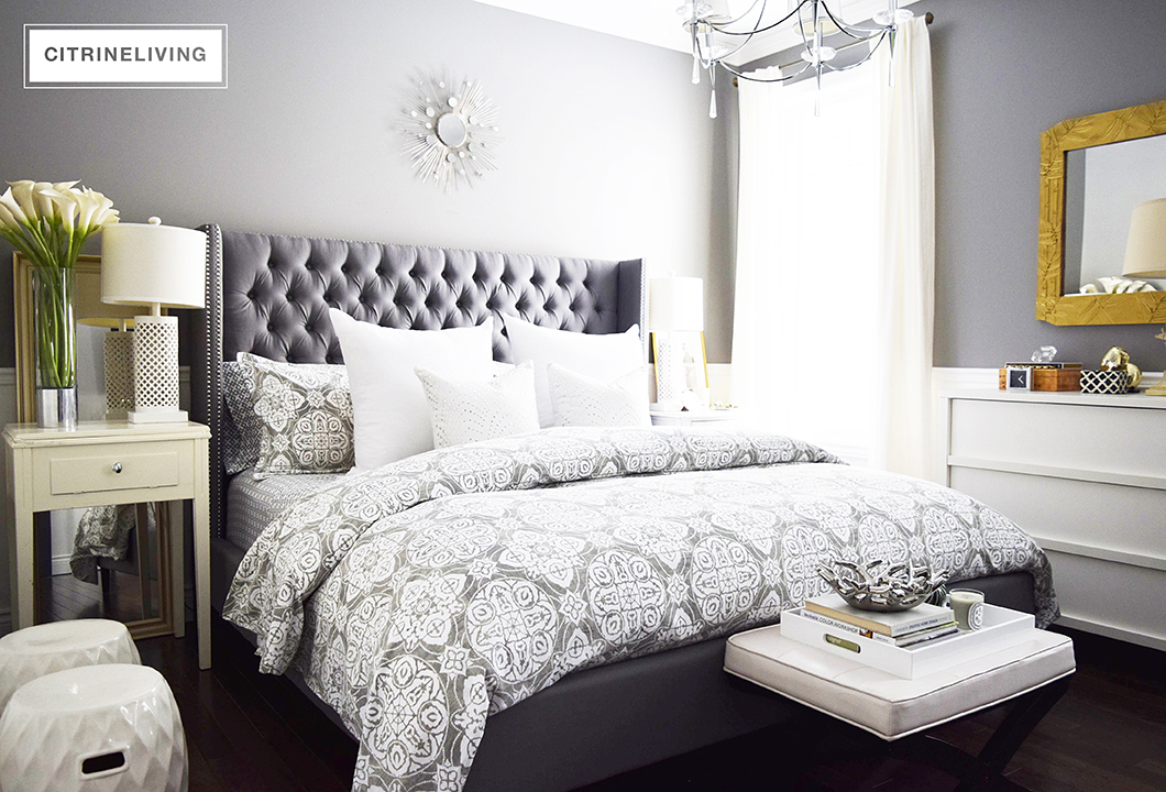 CITRINELIVING CREATE A CURATED BEDROOM