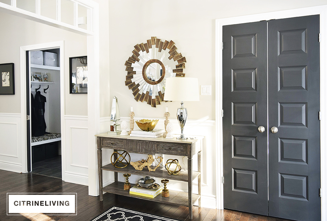 We use our garage to enter the house on a daily basis and all of our coats and shoes go either in the garage or mudroom/laundry room which you can see on ... & BEHIND CLOSED DOORS: UTILITY CLOSET - CITRINELIVING