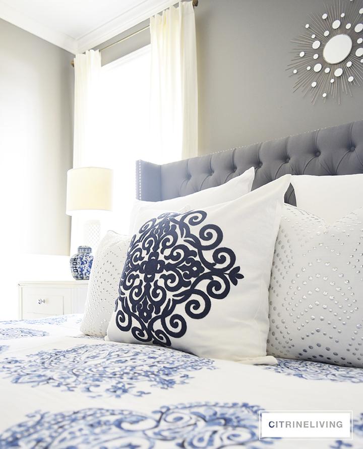 Homesense Blue And White Bedding
