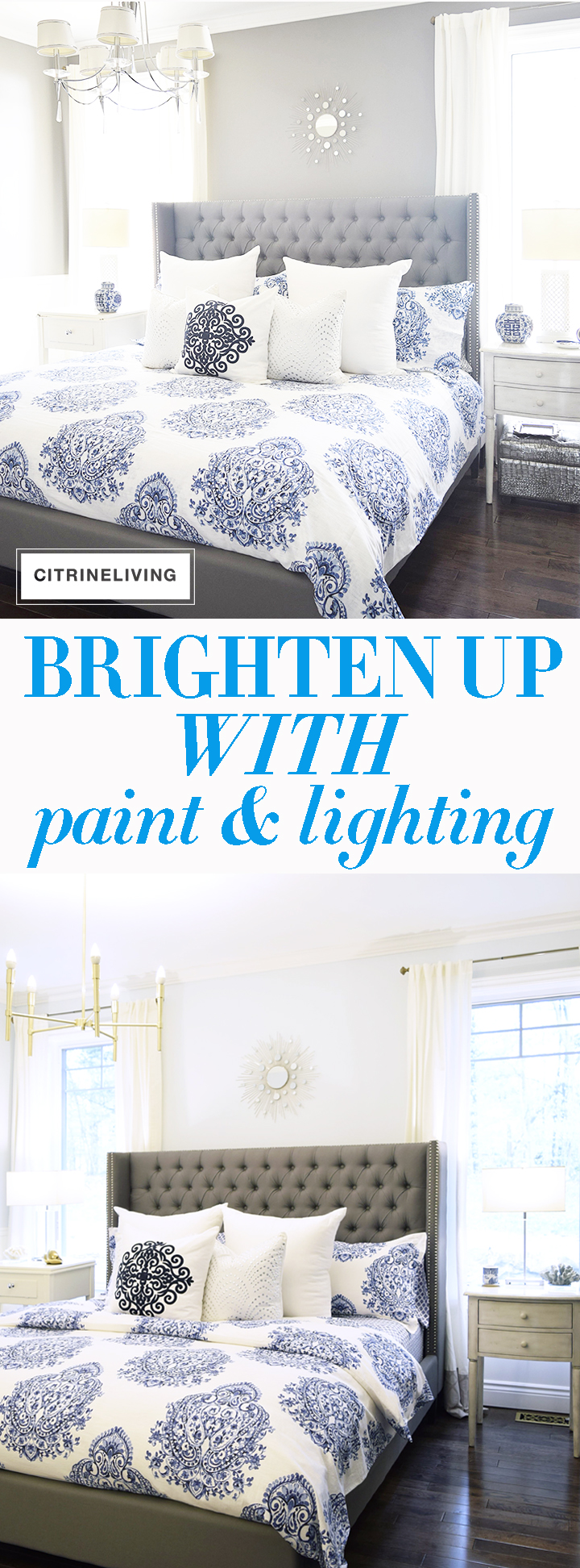 Brighten Up Your Space With Simple Fixes Like Paint And Lighting!
