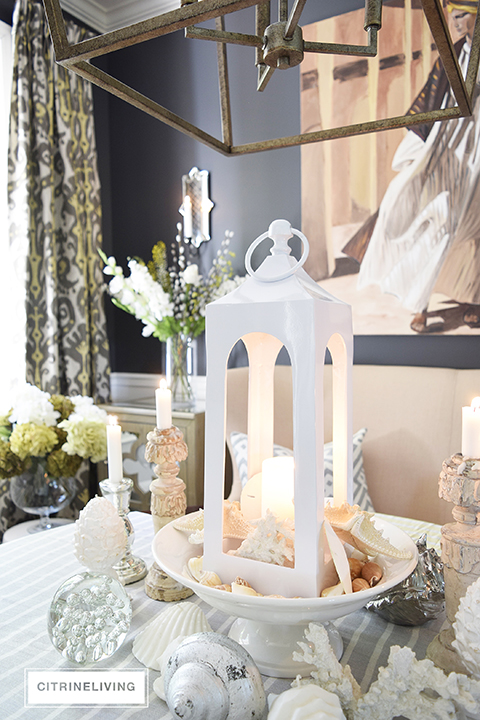 CITRINELIVING : CREATE A BEACH INSPIRED TABLE