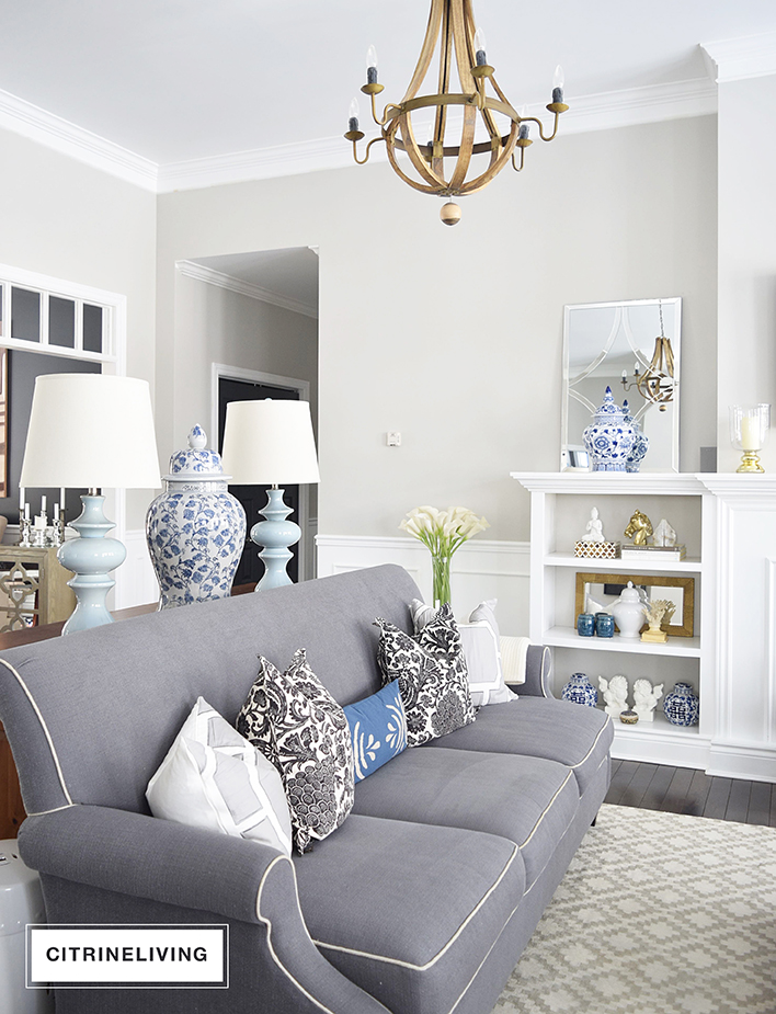 living-room-blue and-white-grey-sofa