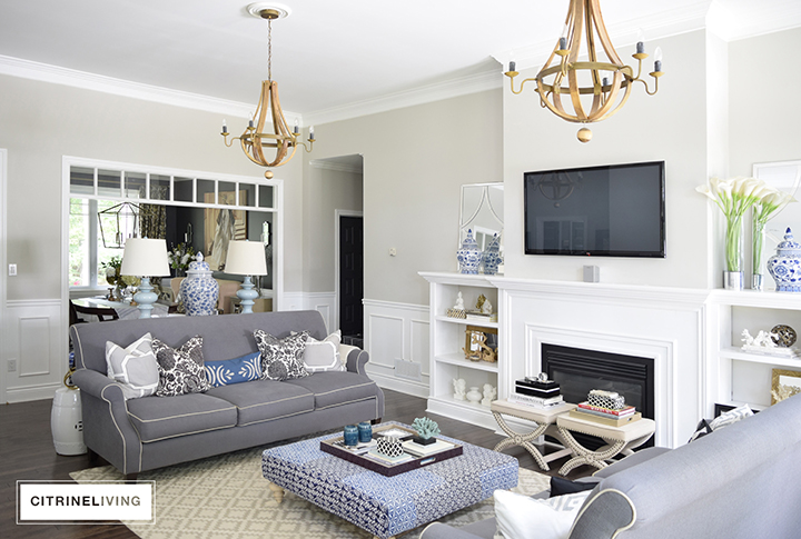 Citrineliving Room Tour A Curated Layered Living Room