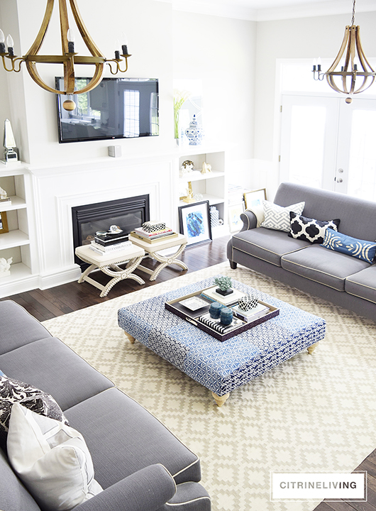 CITRINELIVING : LIVING ROOM TOUR