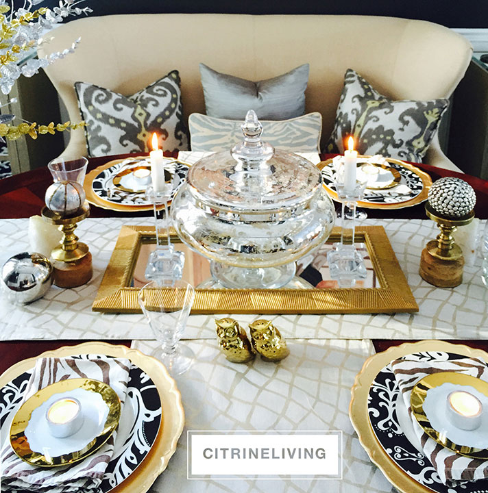 winter-tablescape-gold-silver-metal