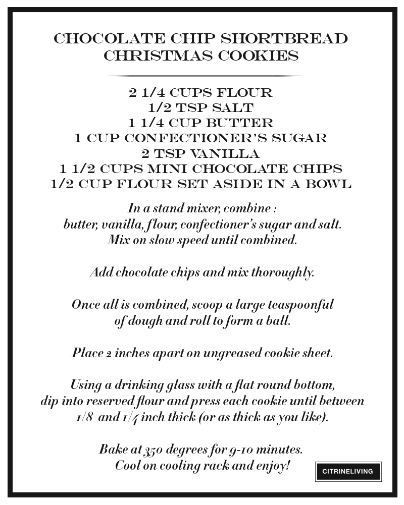 chocolate-chip-shortbread-christmas-cookie-recipe