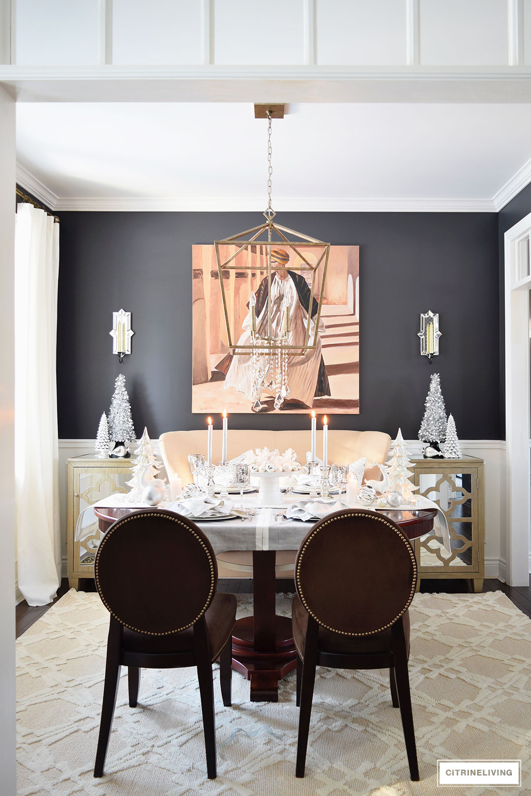 christmas-dining-room-shite-silver4