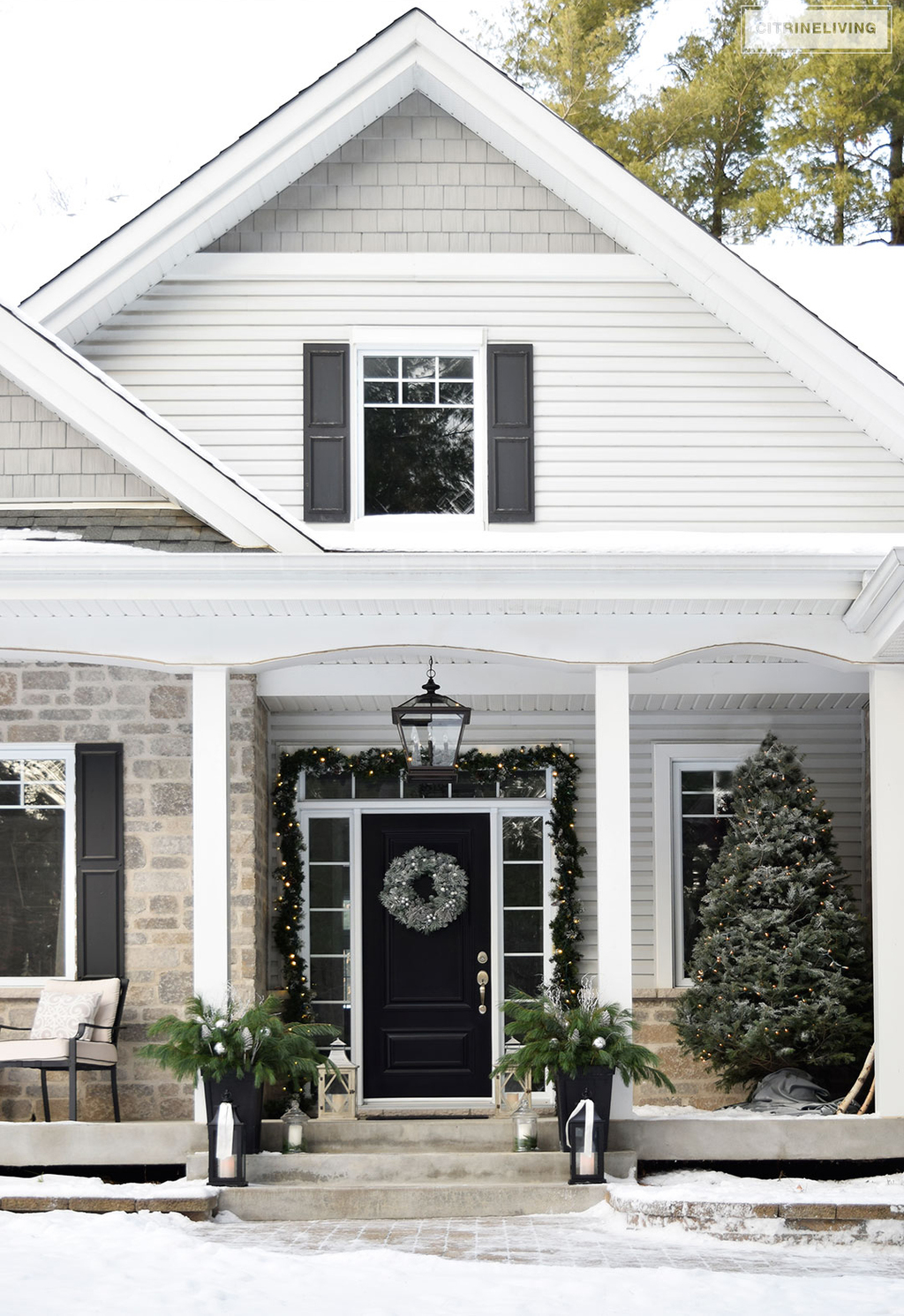 christmas-porch-grey-house