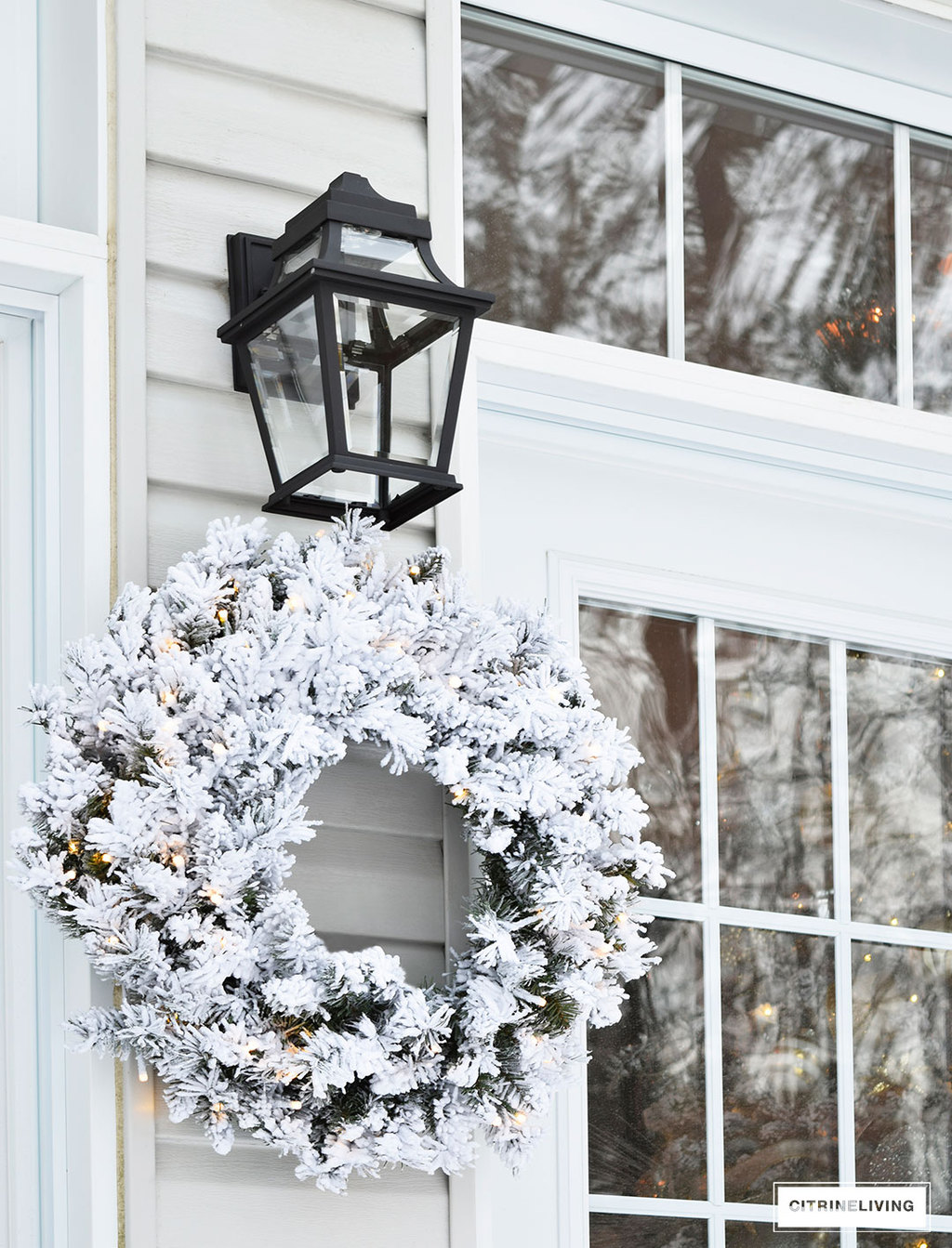 outdoor-lighting-flocked-wreath-french-doors3