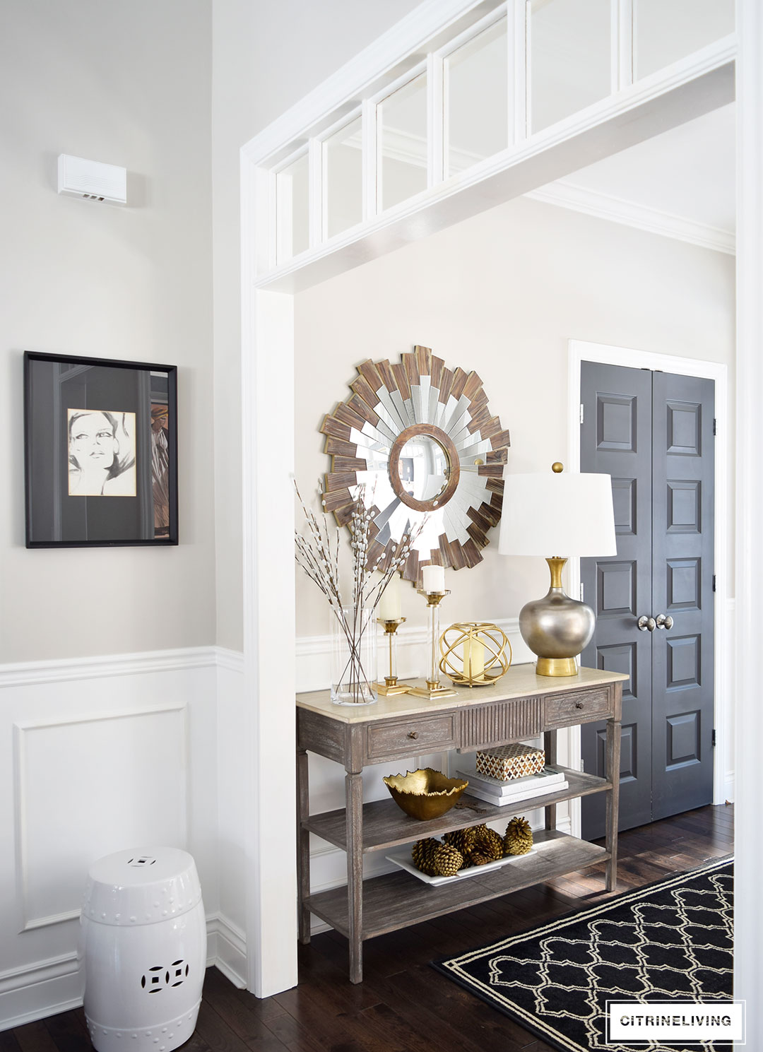 Exceptional I Recently Found This Fabulous, Mixed Metal Lamp That Is A Perfect Fit For  This Table U2013 At The Bottom Of This Post You ...