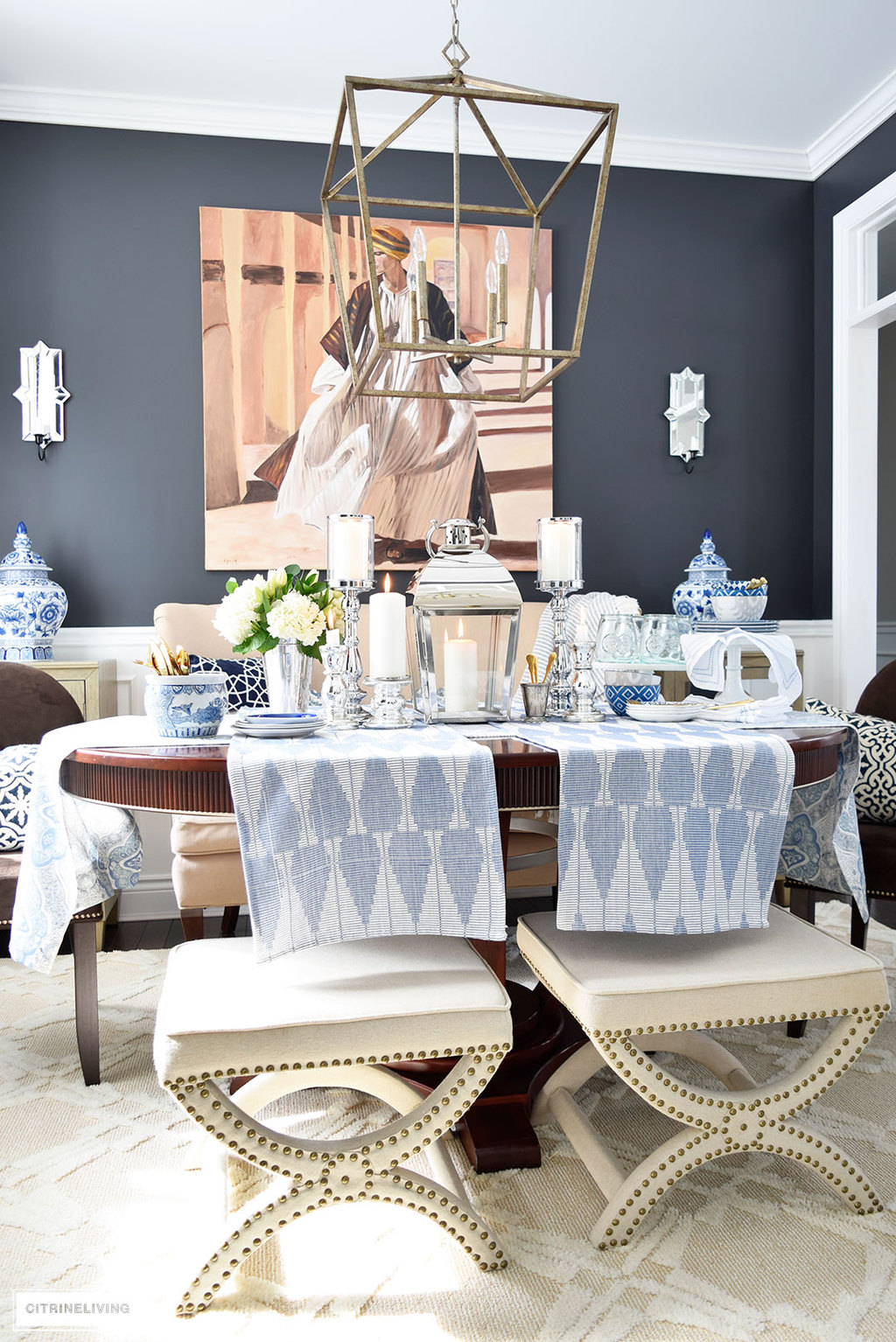 Beautiful Spring Table Decor