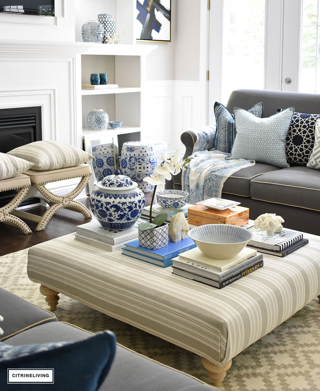 Make A Style Statement On Your Coffee Table With Stacks Of Books Decorative Bo And