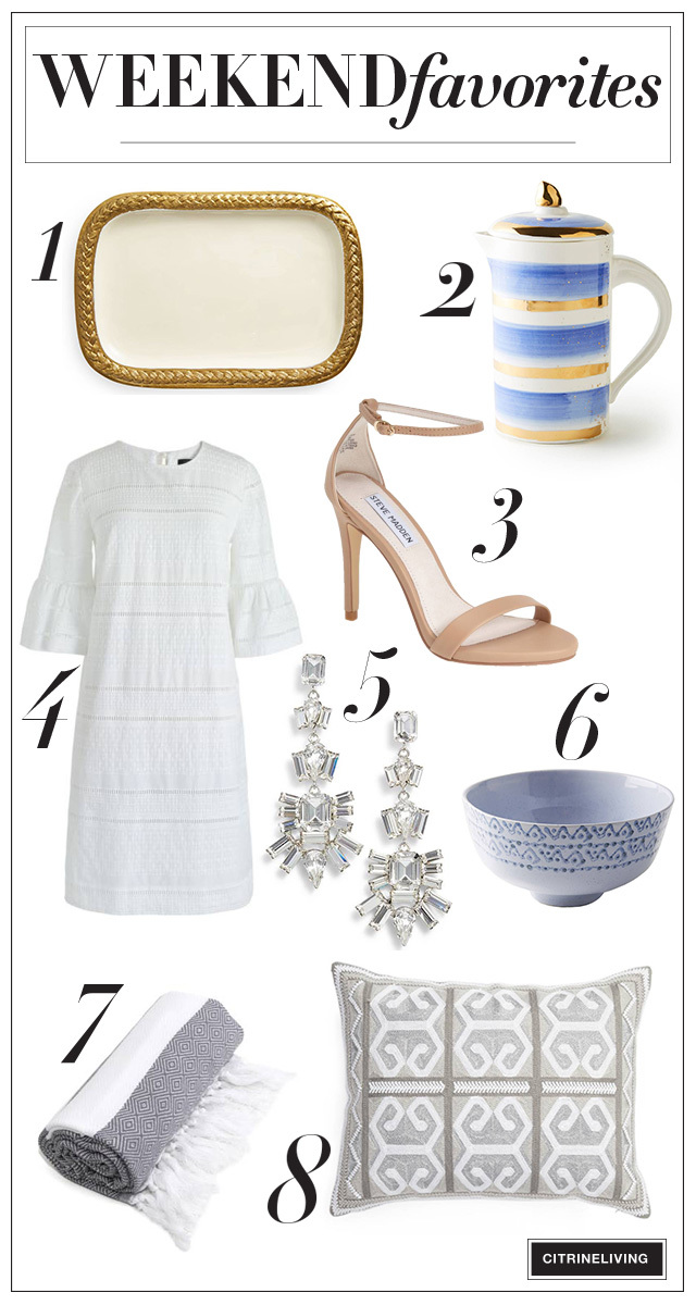 Favorite fashion and home decor picks in this week's edition of Weekend Favorites!