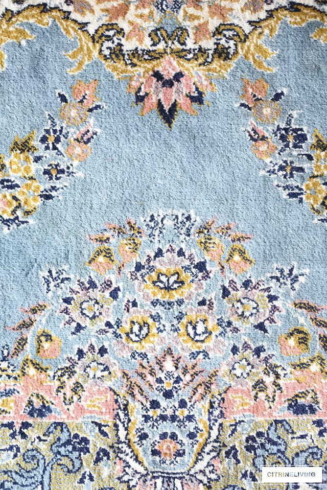 bedroom floor fabric