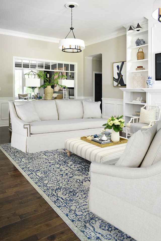Our living room is getting new white sofas and they are gorgeous! I'm sharing the look, why we chose them, and some fall inspiration coming to this space!