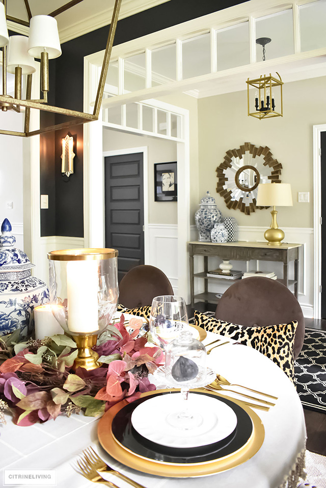Fall decorating and styling ideas.