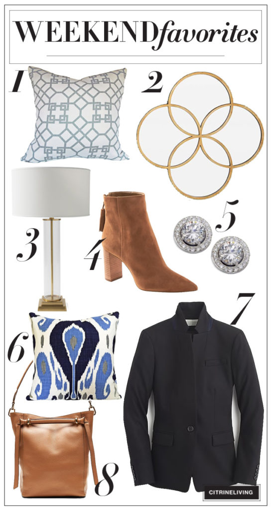 fabuous fashion and home finds and most of them are on sale! Join me on the blog for this week's Weekend Favorites