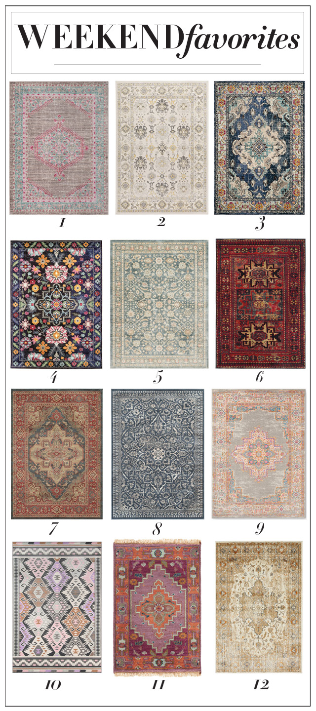 Beautiful and affordable turkish inspired vintage rugs: add one of these classics to any space and instantly up your chic factor!
