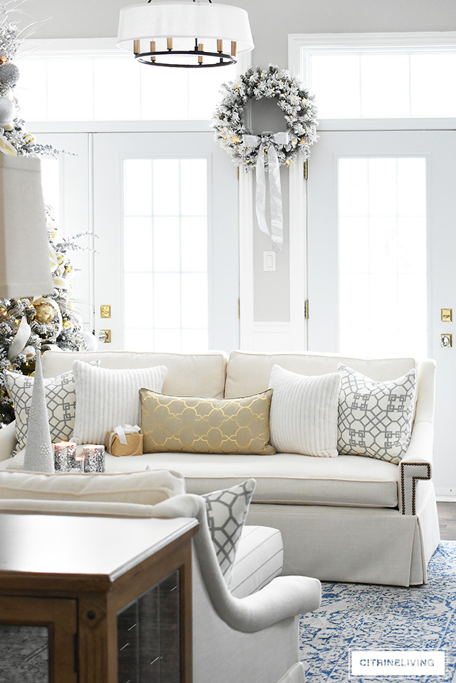 Christmas Living Room Gorgeous Decor From Walmart