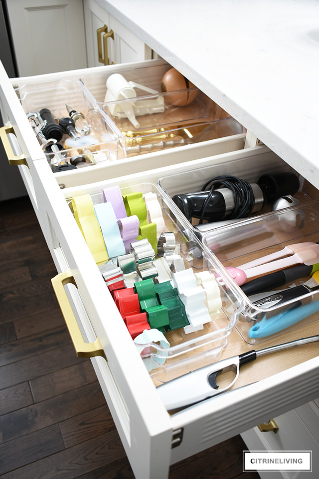organized accessory drawer