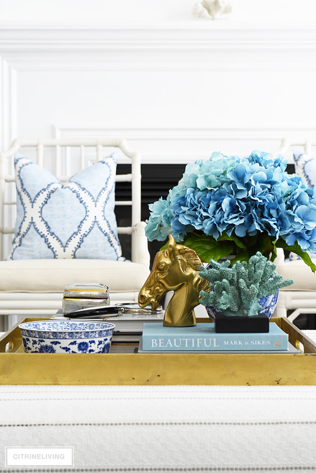 COFFEE TABLE DECORATING + STYLING TIPS! - CITRINELIVING