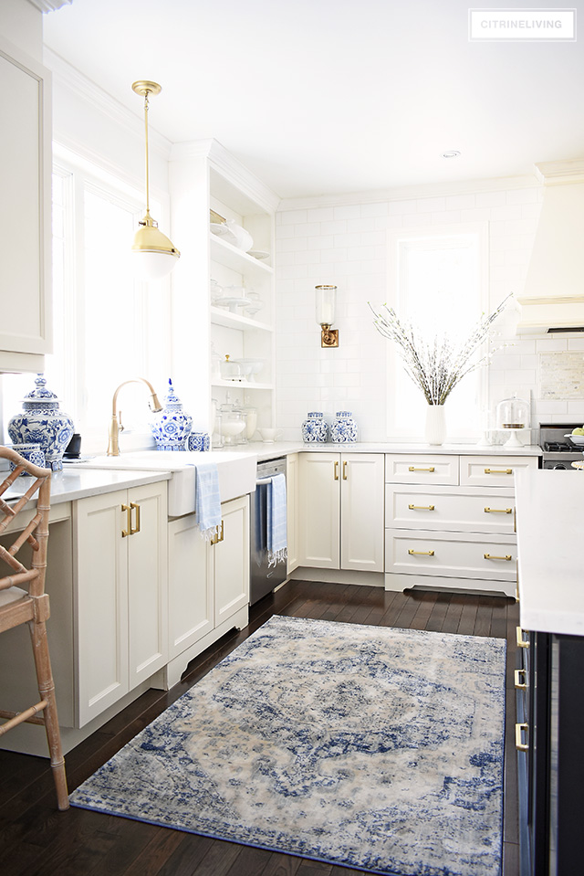 SPRING KITCHEN DECORATING IDEAS - CITRINELIVING