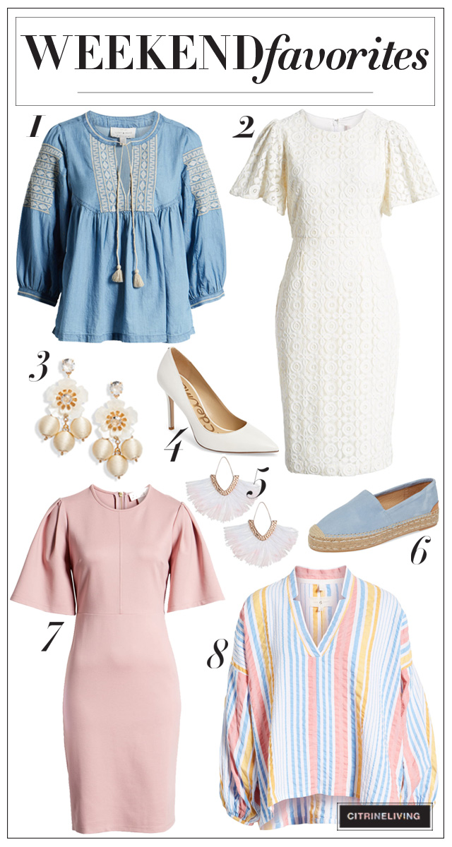 Sharing gorgeous pastel wardrobe essentials from flirty dresses in the new Rach Parcell collection, to flowy boho tops that can take you anywhere!