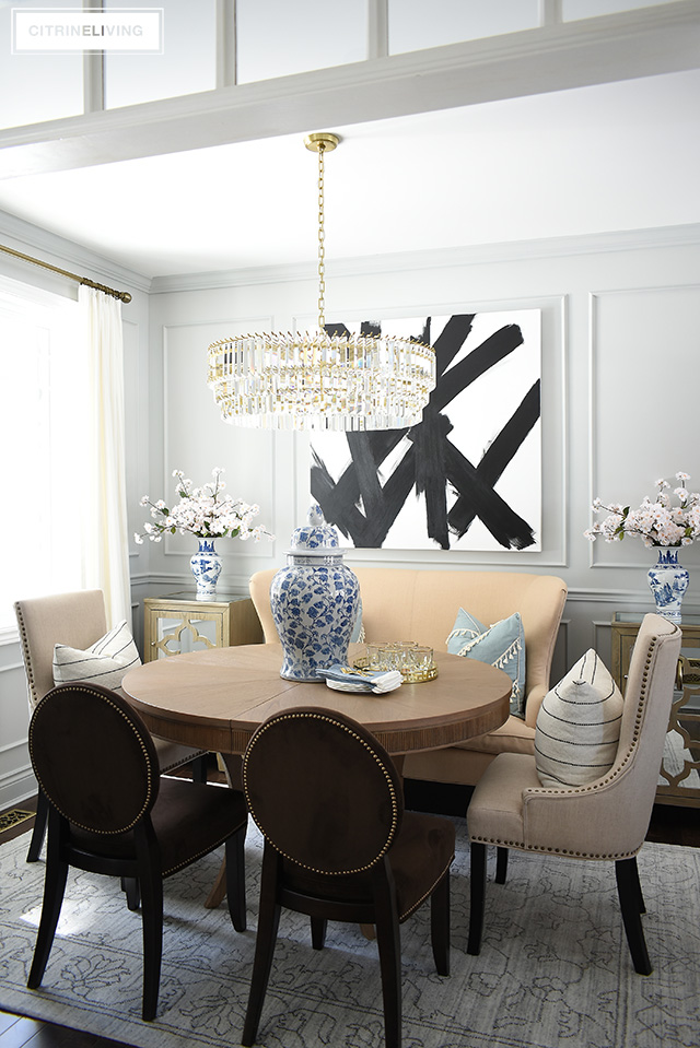 Keep Your Spring Dining Room Decorating Simple Use These Easy Tips To Create A Fresh