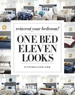 One bed, eleven ways - transform your bedroom with these simple updates from new pillows and accessories to new bedding for a brand new look!