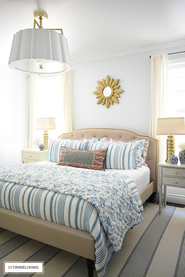 SUMMER BEDROOM DECORATING REFRESH - CITRINELIVING