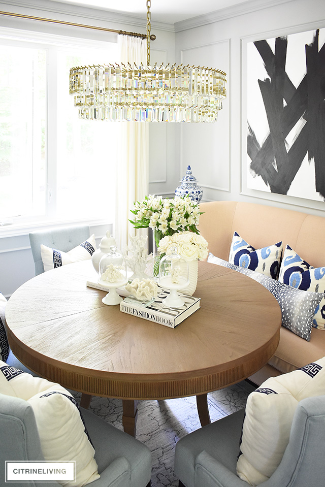Miraculous Summer Dining Room Decorating Citrineliving Ocoug Best Dining Table And Chair Ideas Images Ocougorg