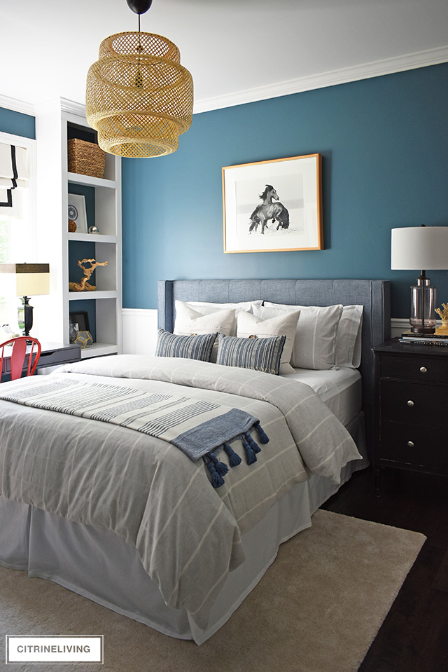 Modern Coastal Teen Bedroom Makeover Citrineliving