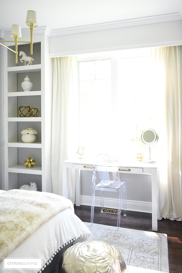 GLAM TEEN GIRL BEDROOM MAKEOVER REVEAL - CITRINELIVING