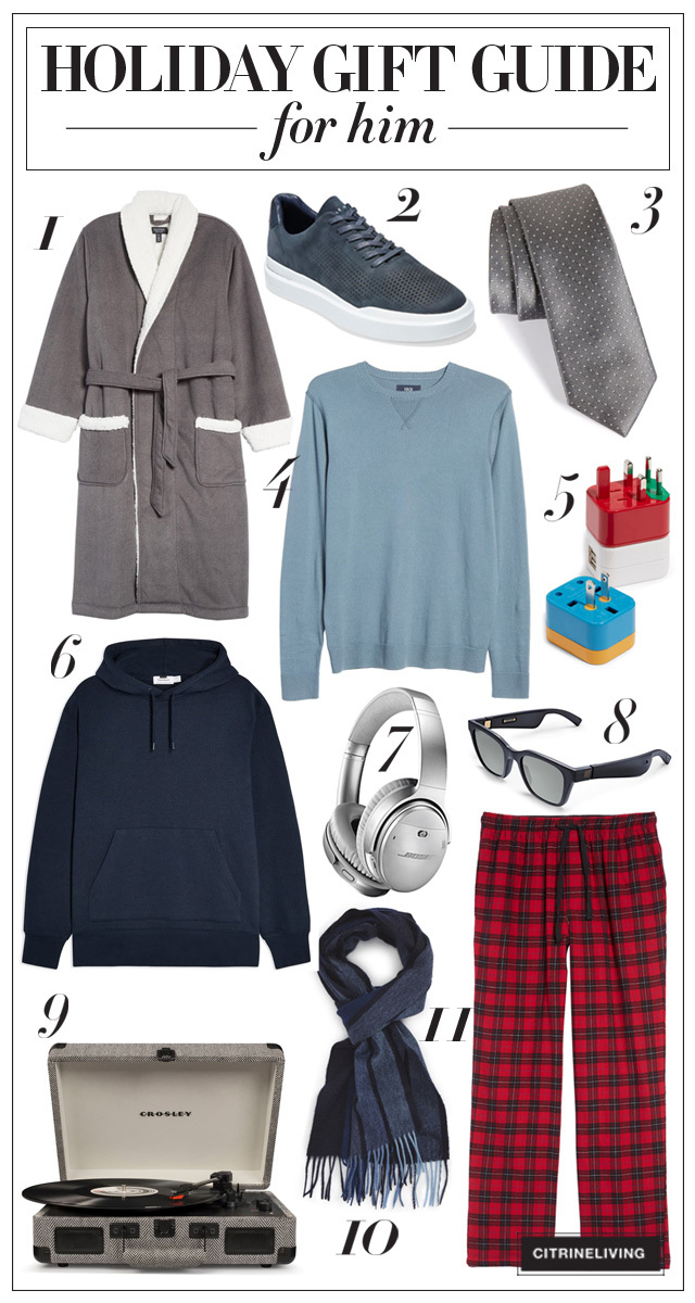 Holiday gift guide for him!