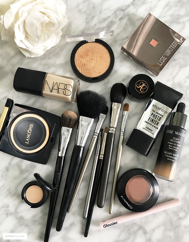 Tackle your daily beauty routine with makeup brushes and products that will get you through any day!