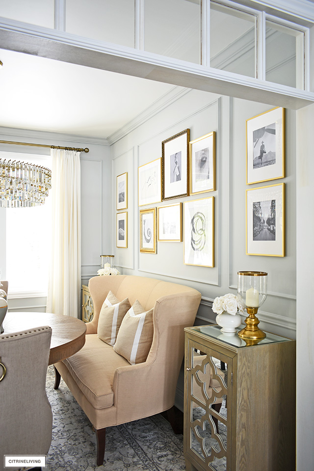 Make a statement in your home with a gorgeous gallery wall!