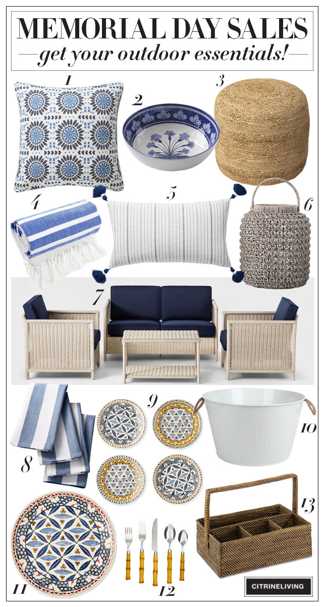 Memorial Day Sales - essentials for your backyard oasis!