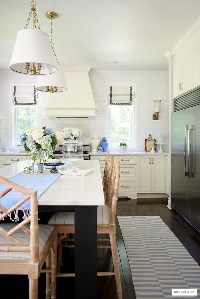 Kitchen Decorating For Summer Citrineliving