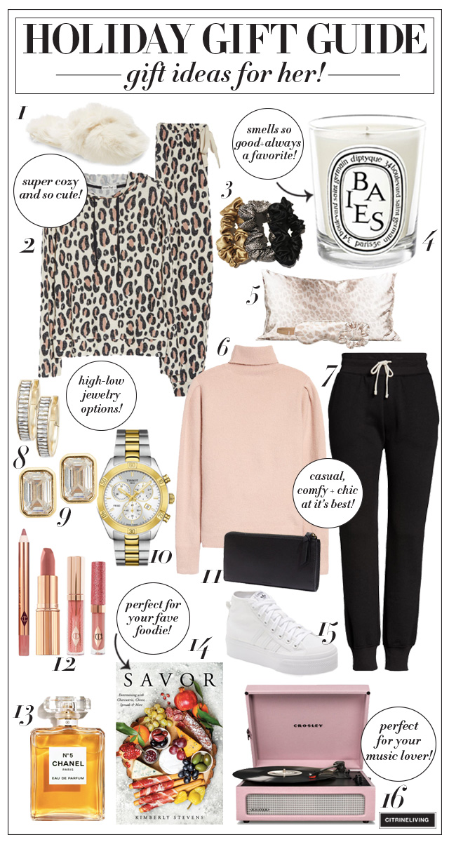 Holiday Gift Ideas For Her A Fab Roundup Citrineliving