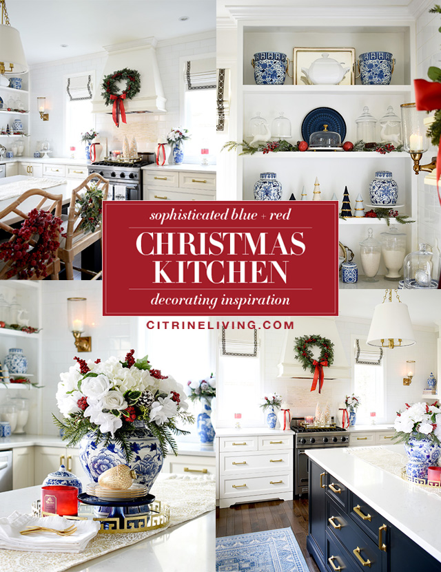 Christmas kitchen decorating ideas and inspiration!