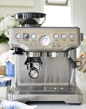 Breville Barista Express Espresso Machine, Certified Refurbished from Ebay